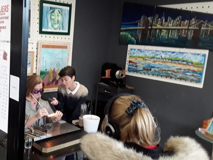 Reportage par TéléNantes à l'Atelier 22 à Pontchâteau