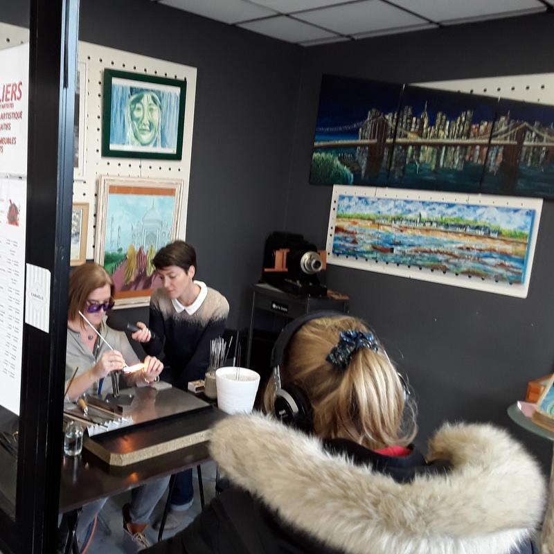 reportage par TéléNantes à l'Atelier 22