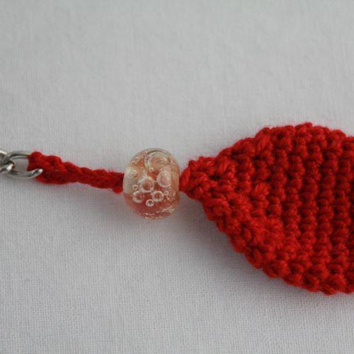 Porte-clé poisson rouge
