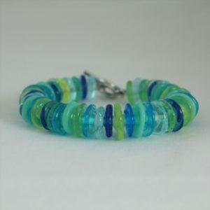 Bracelet bleu turquoise