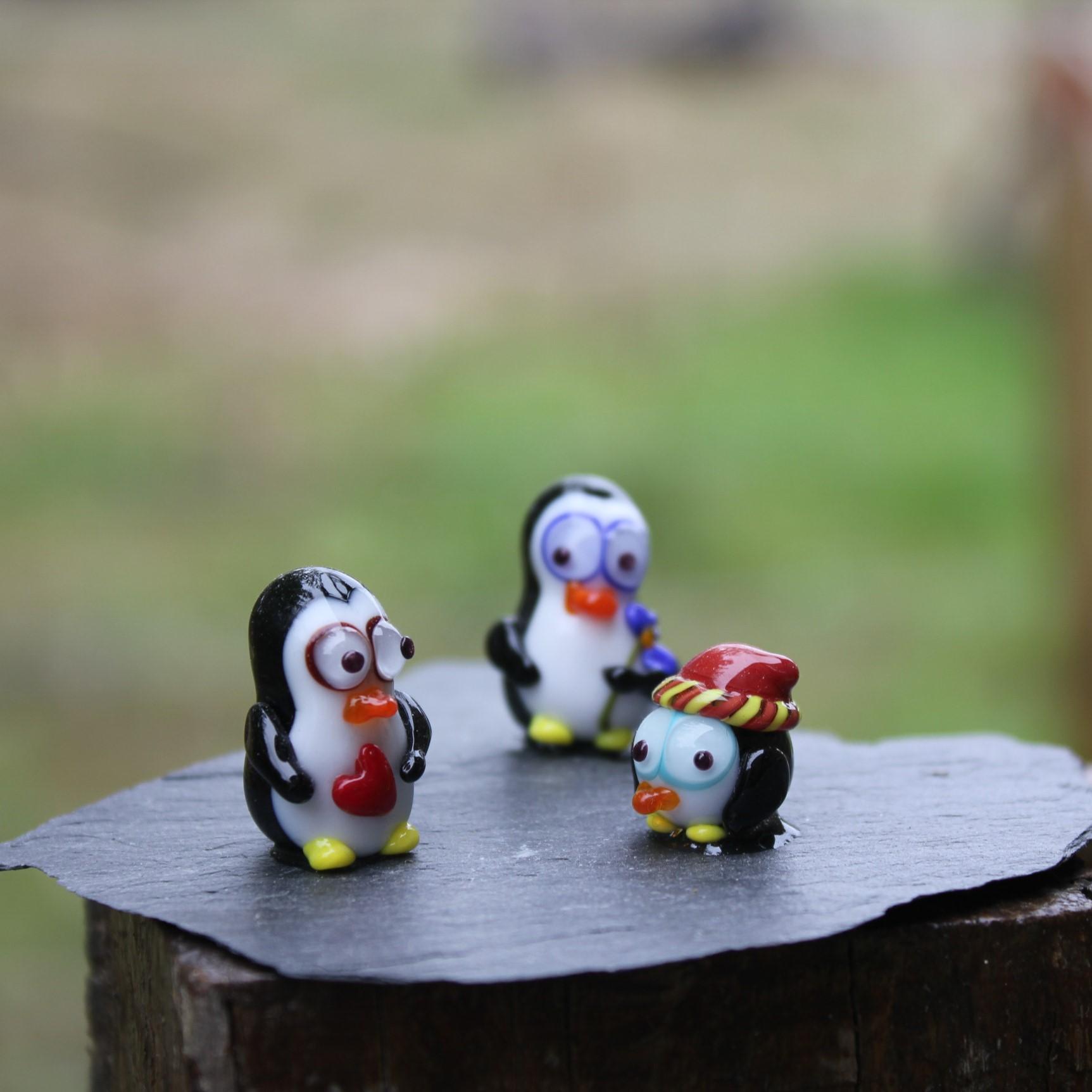 Famille de pingouin