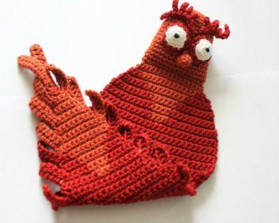 Marque-page hibou en crochet